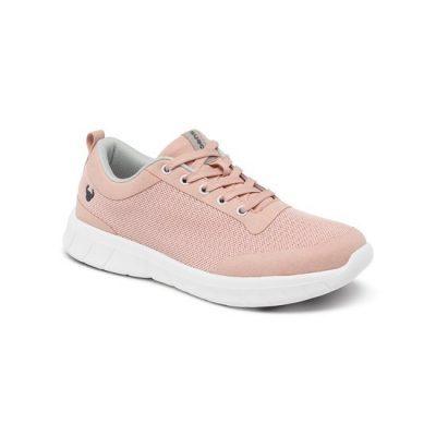 Zacht roze suecos sneaker