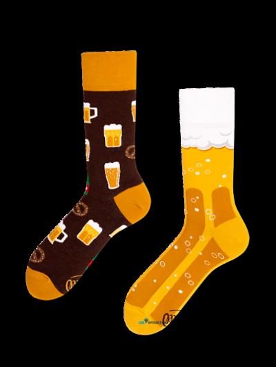 Ambachtelijke bier sokken