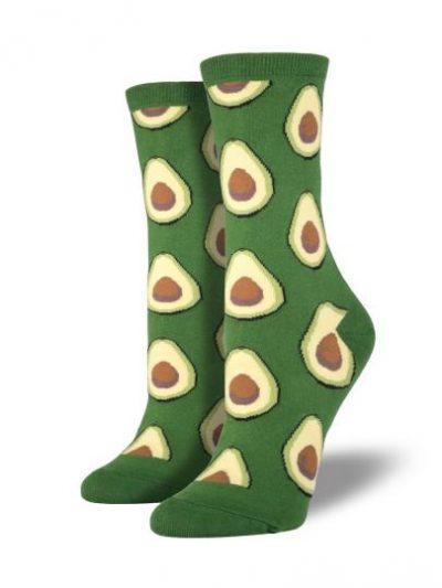 Avocado sokken groen