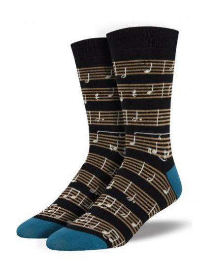 Bladmuziek sokken