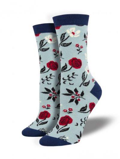 Bloemen sokken