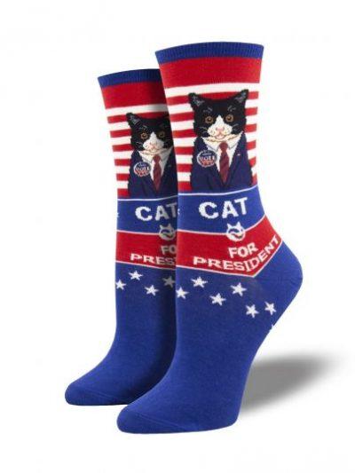 CAT for president sokken