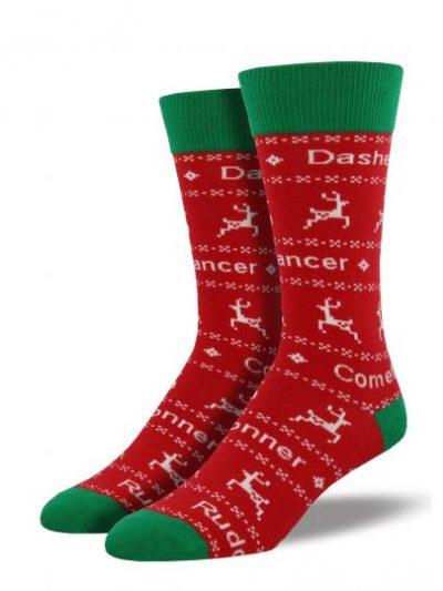 Dasher Dancer kerstsokken
