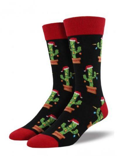 Kerst Cactus sokken