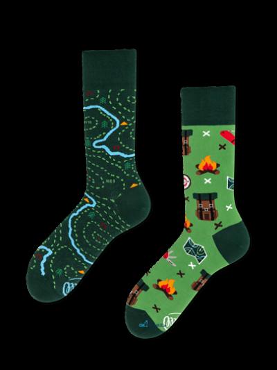Landkaart sokken