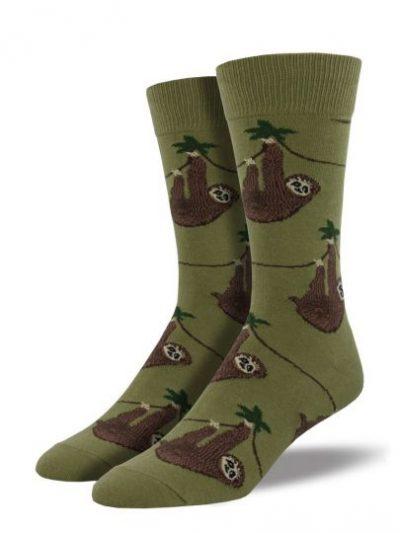 Luiaard sokken