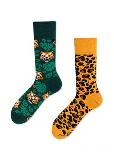Luipaard sokken