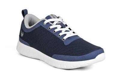 Navy Blauwe Suecos Alma medische sneakers