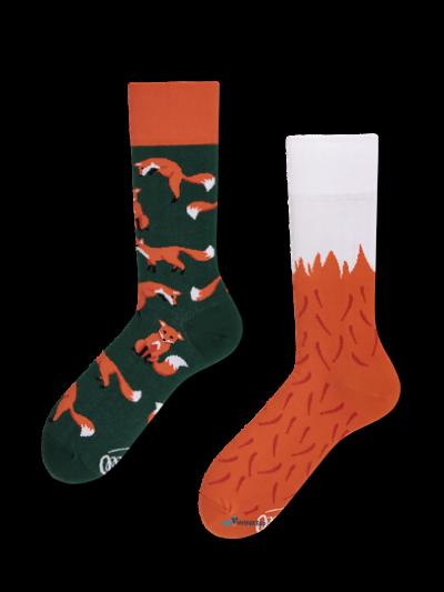 Rode vossen sokken