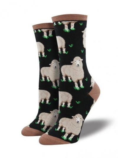 Schapen sokken zwart