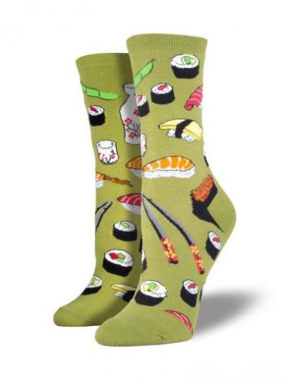 Sushi sokken groen
