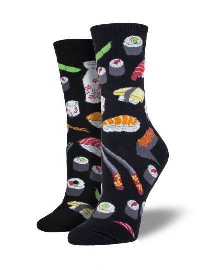 Sushi sokken zwart