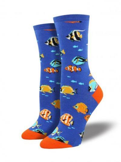 Tropische vissen sokken