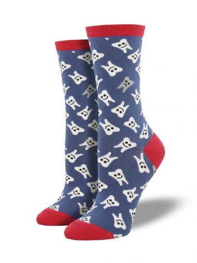 Vrolijke tanden sokken
