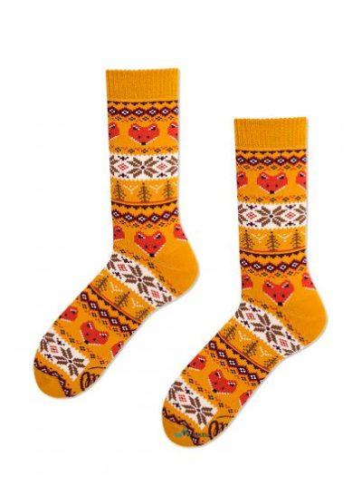 Warme vossen sokken