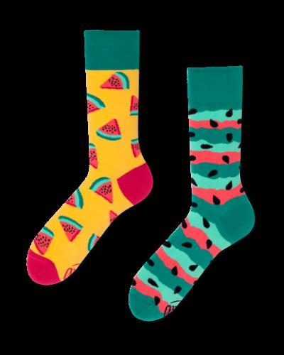 Watermeloen sokken