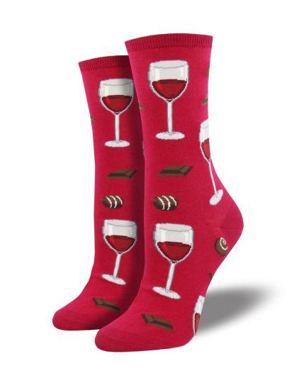 Wijn sokken zwart
