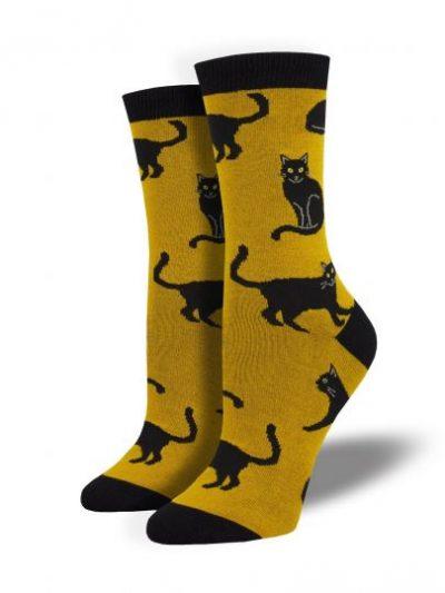 Zwarte Katten sokken